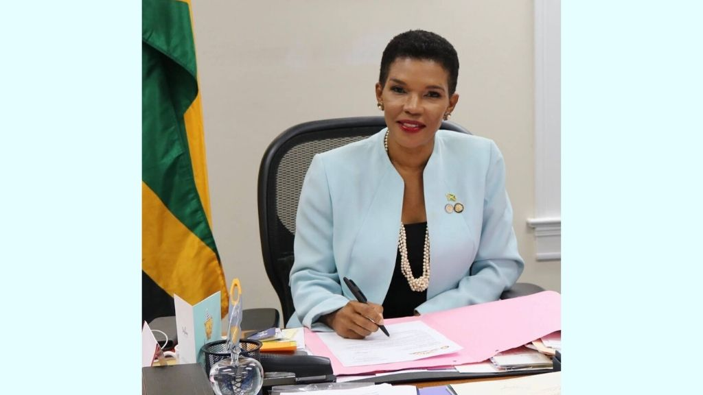 Jamaica's ambassador to the United States Audrey Marks