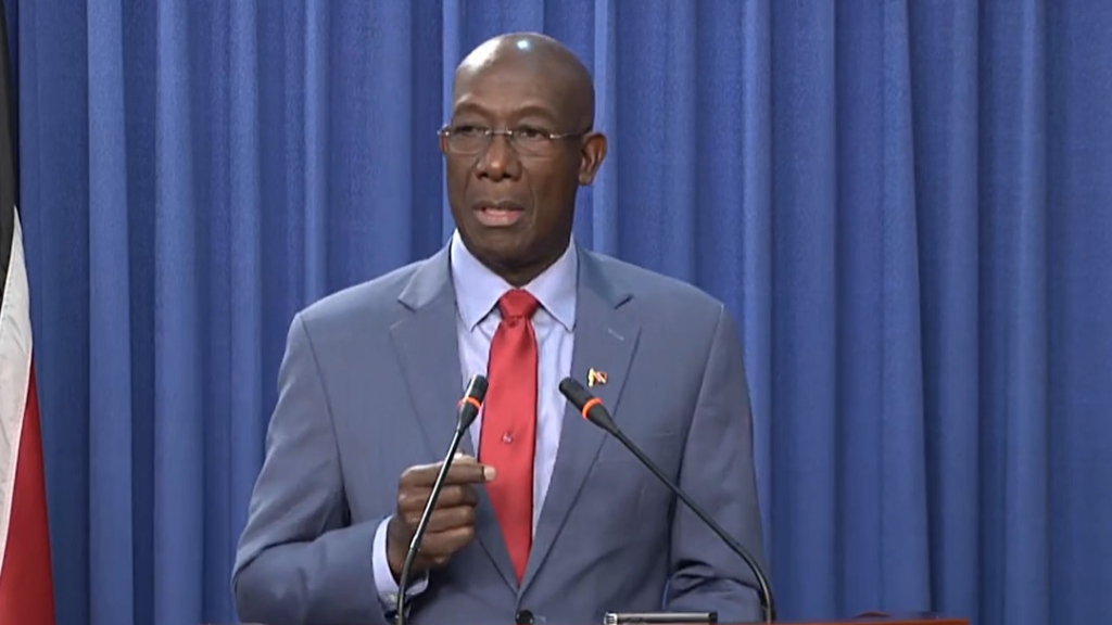 File Photo: Prime Minister Dr Keith Rowley.