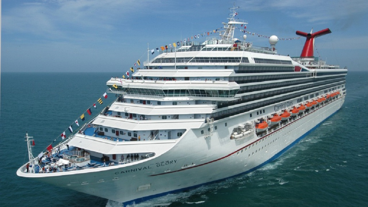 (Image: Carnival Glory, which rescued the man - image courtesy of Carnival Cruise Line)