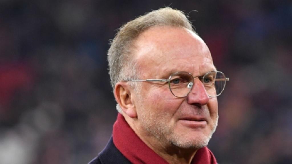 Bayern Munich chairman Karl-Heinz Rummenigge.