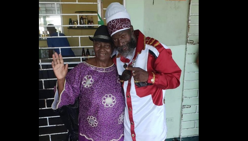 Capleton and mother, Mabel Downer-Forbes, in happy times.