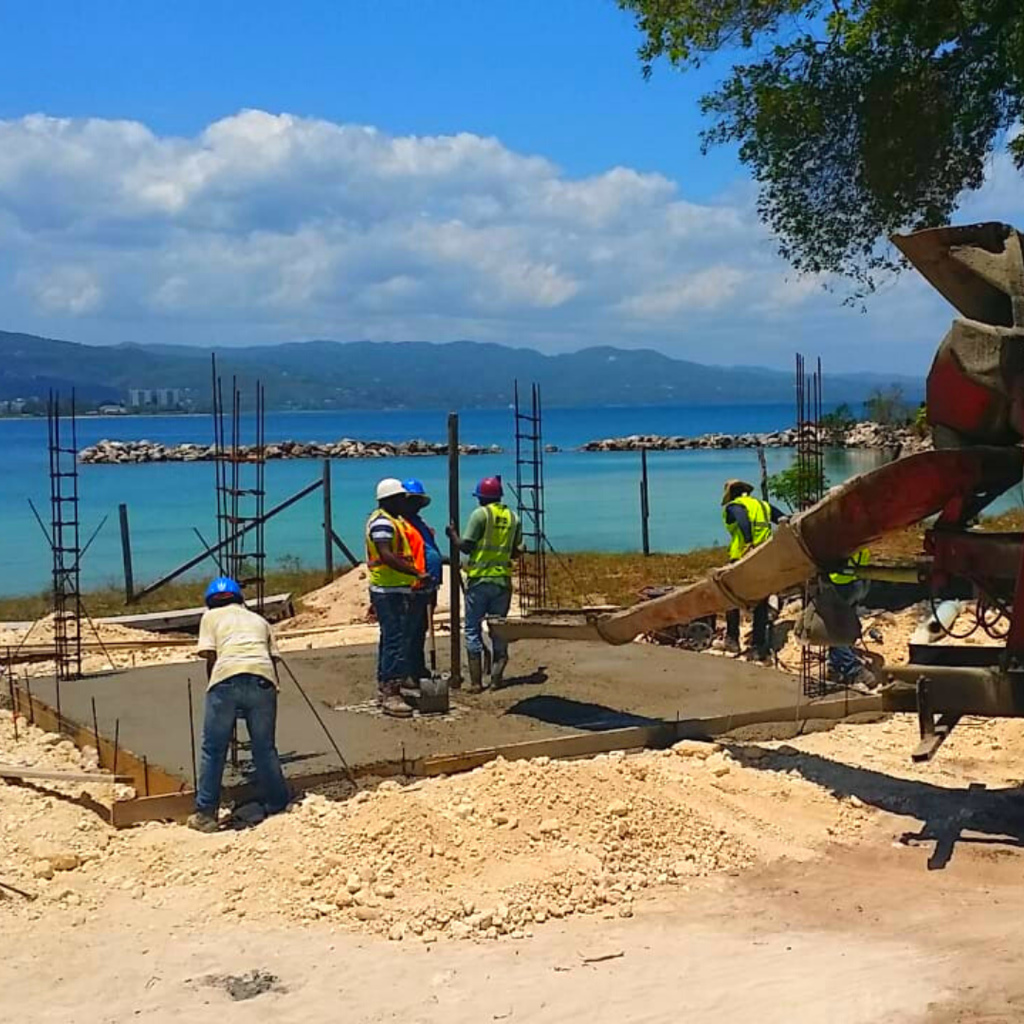 In the city of Montego Bay, construction continues to the Closed Harbour Beach Park, the UDC's flagship project being implemented at a value of $1.3 billion.