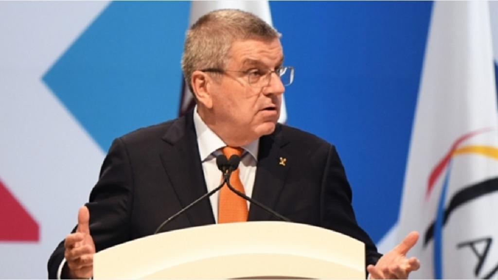 IOC president Thomas Bach.