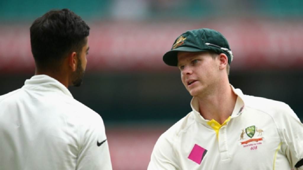 India captain Virat Kohli (left) and Australia captain Steve Smith.