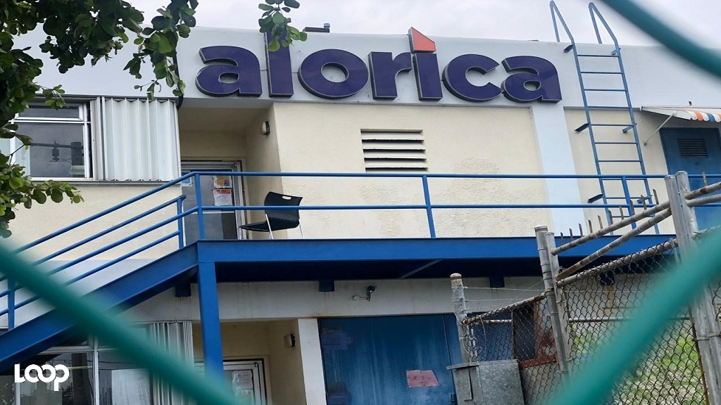 The Alorica call centre site in Portmore, St Catherine which has found itself at the centre of the COVID-19 outbreak in Jamaica.