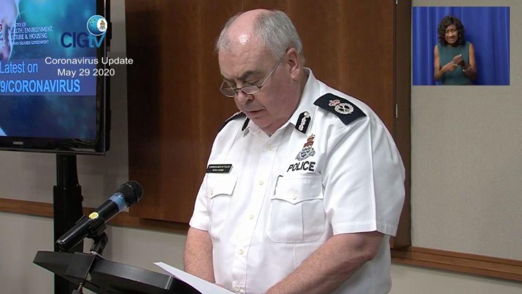 Police Commissioner: Derek Byrne