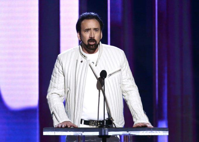 """Nicolas Cage incarnera Joe Exotic dans une série télévisée consacrée à cet excentrique amoureux des grands fauves au coeur d'un documentaire à succès, """"Au royaume des fauves"""", récemment diffusé sur Netflix afp.com - Tommaso Boddi"""