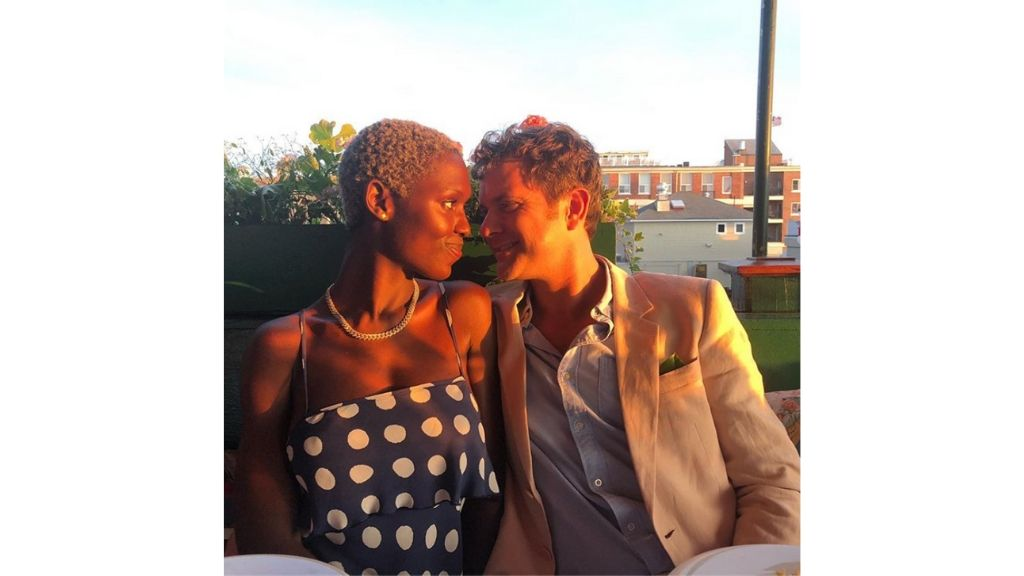 Actors Jodie Turner-Smith and Joshua Jackson. (Photo: via Instagram)
