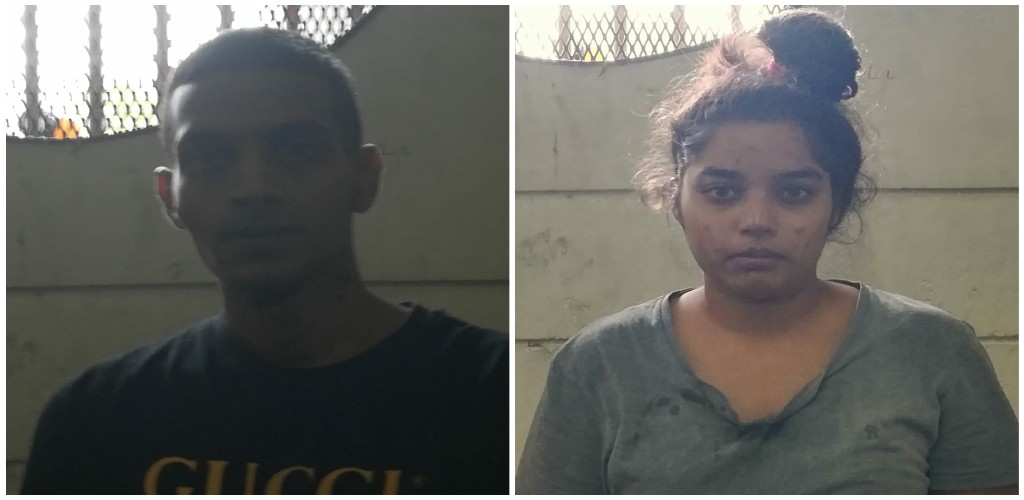 Left to right: Nicholas Latchman, Shalini Silochan (Photos provided by the Trinidad and Tobago Police Service)