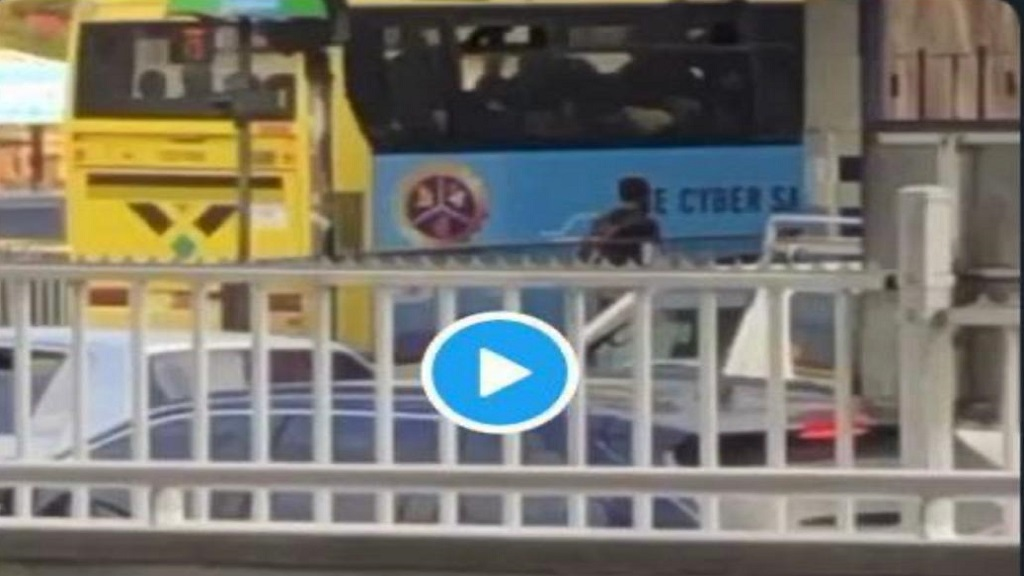A screengrab from a video recording of a Jamaica Urban Transit Company (JUTC) bus being reportedly operated with standing passengers, in contravention of the COVID-19 prevention stipulations of the bus company.