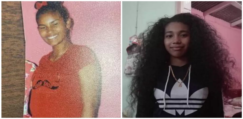 From left to right: Sou-Ann Lamothe and Soriah Gordon (Photos provided by the Trinidad and Tobago Police Service)