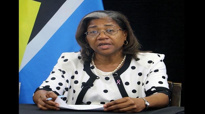 Health Minister, Senator Mary Isaac
