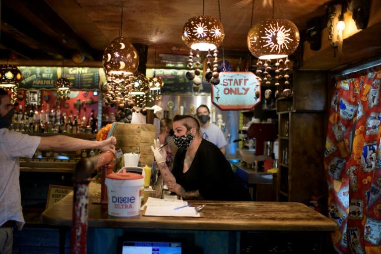 Réouverture de bars à Houston, le 22 mai 2020
