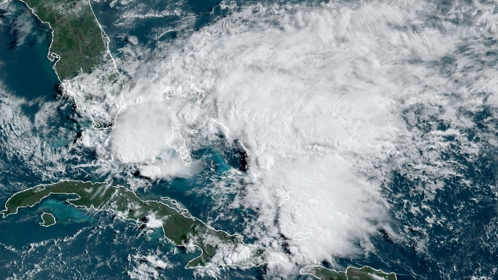 Photo courtesy the US National Hurricane Centre
