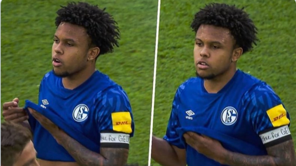 Midfielder Weston McKennie