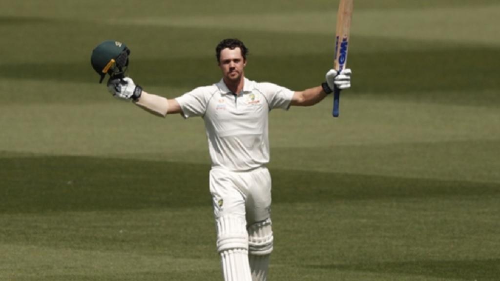 Australia batsman Travis Head.