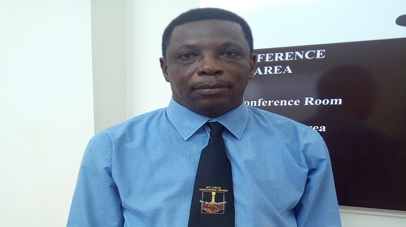 St Lucia Trade Union Federation president Julian Monrose