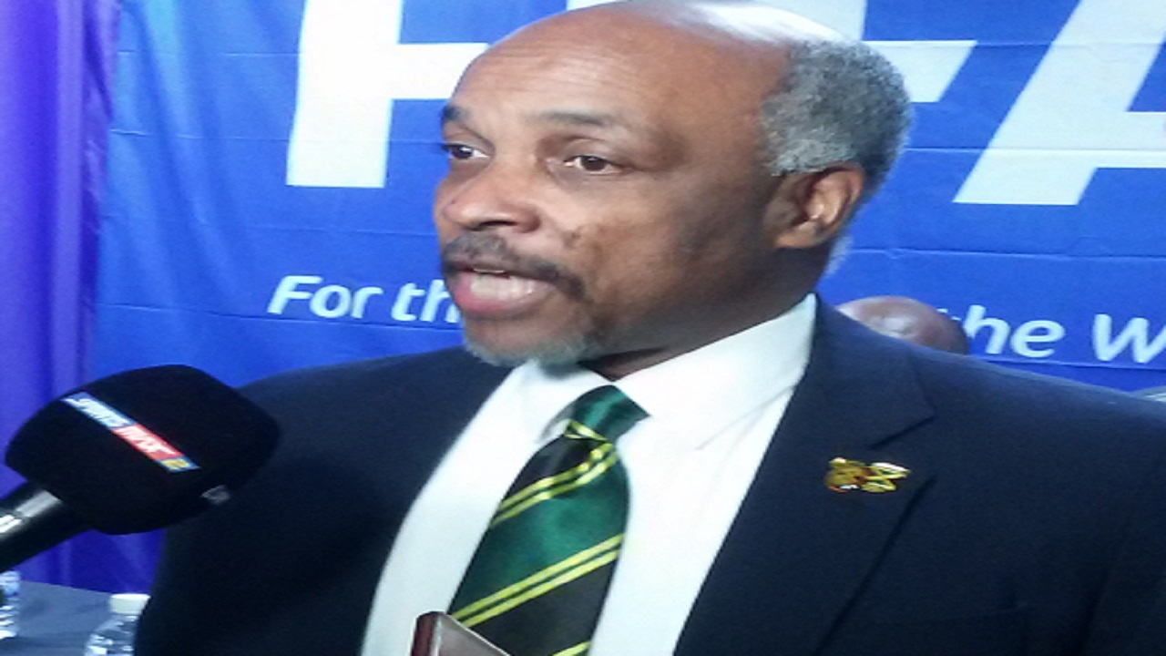 Christopher Samuda, President of the Jamaica Olympic Association.