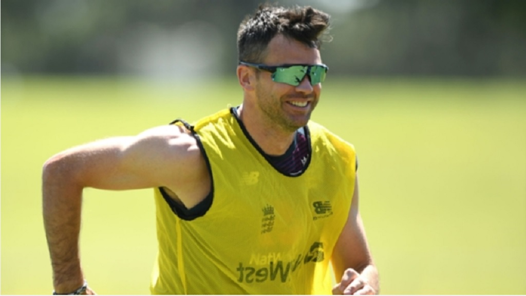 James Anderson and the rest of England's bowlers are set to resume training.