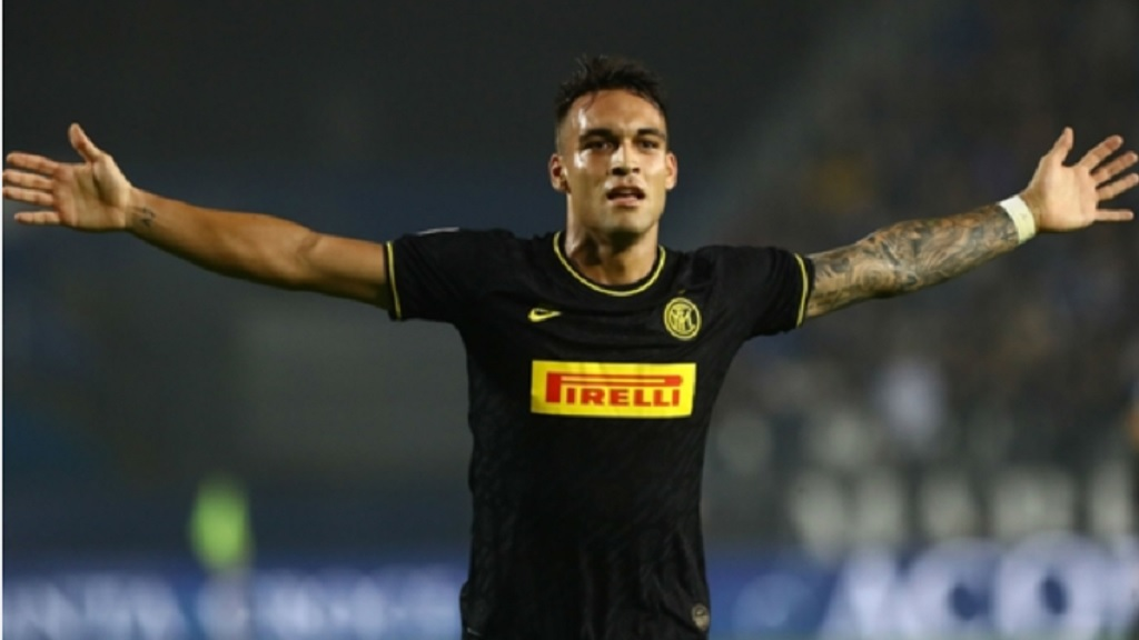 Inter forward Lautaro Martinez.