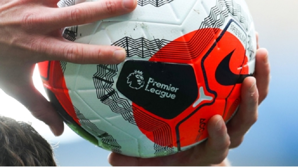 A Premier League football.