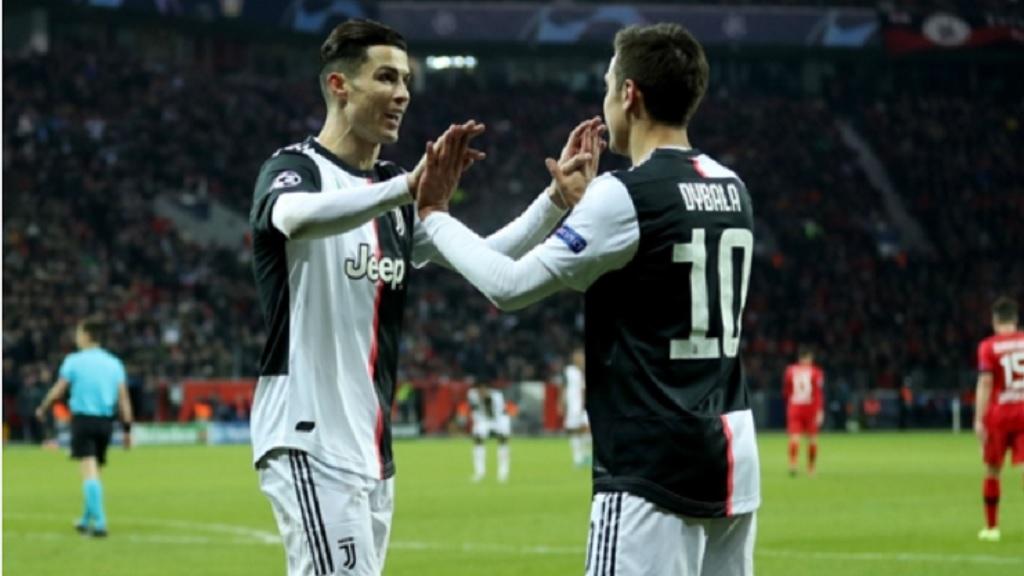 Juventus stars Cristiano Ronaldo (left) and Paulo Dybala.