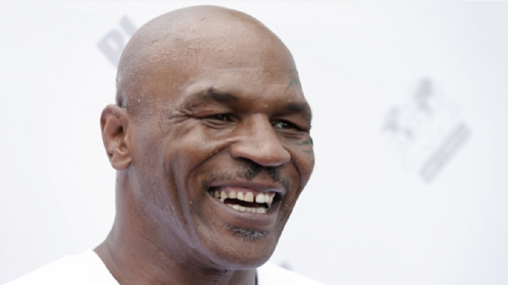Former heavyweight world champion Mike Tyson.