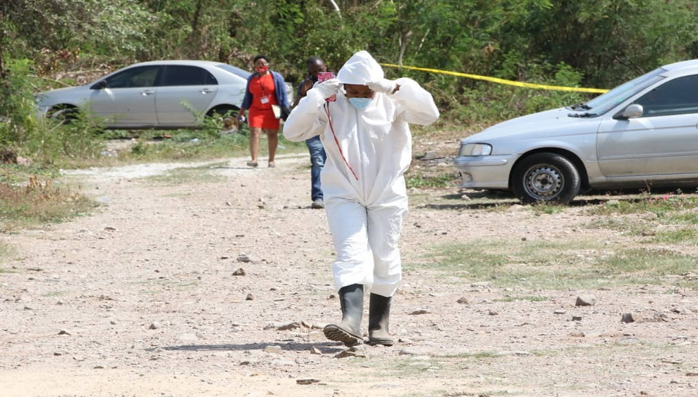 Cops Find Human Remains On Land