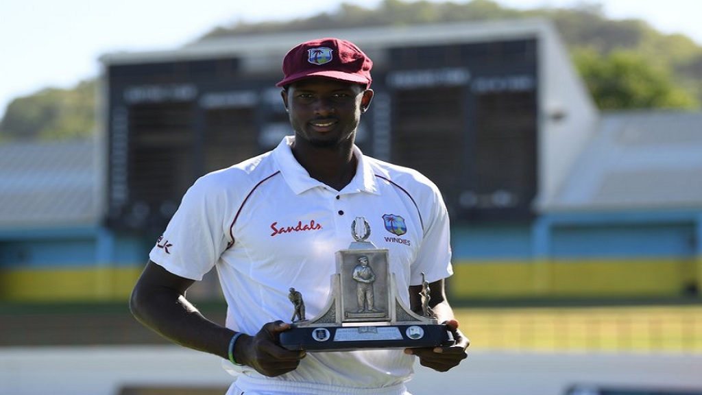 West Indies Test captain Jason Holder.