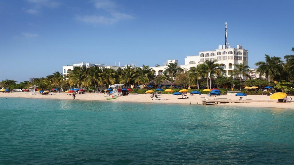 iStock photo of Doctors Cave Beach, Montego Bay.