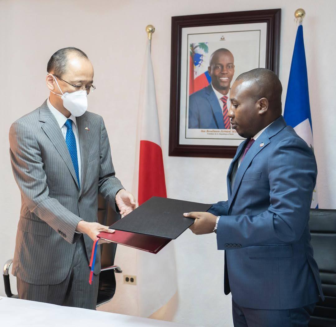 Coronavirus le japon fait un don de $2.8 millions à Haiti