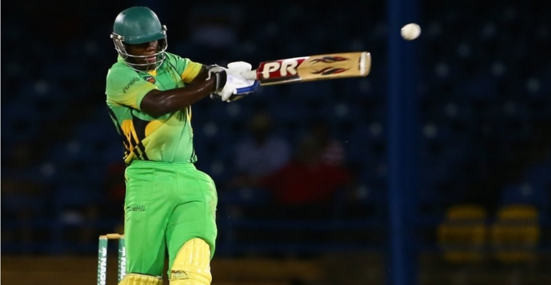 Jamaican all-rounder Nkrumah Bonner.