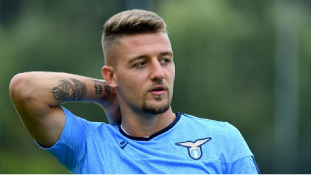 Sergej Milinkovic-Savic is proud to have played for Lazio.
