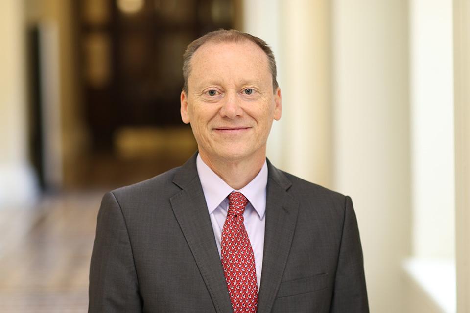 Governor Martyn Roper