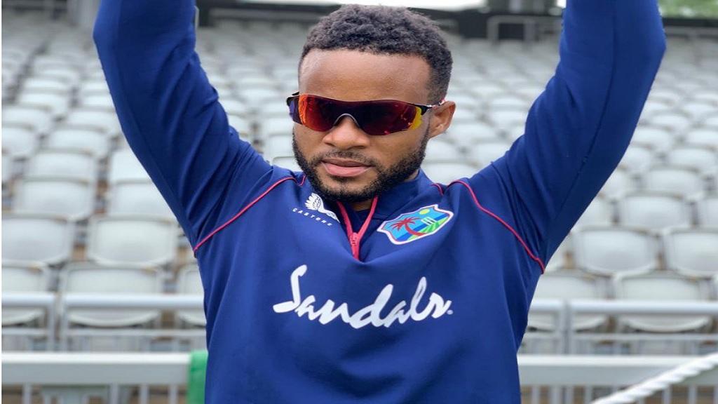 West Indies middle-order batsman Shai Hope.