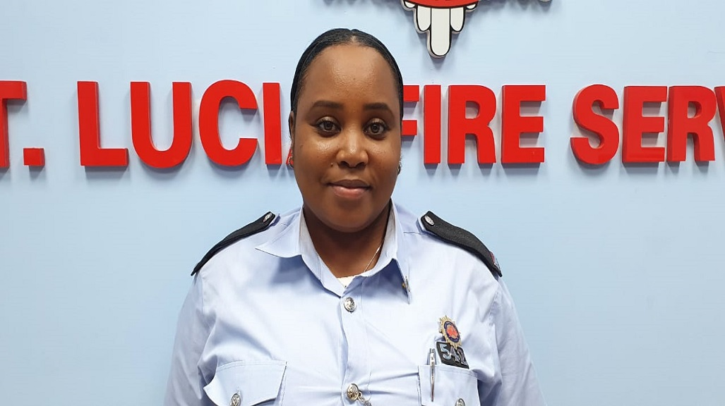 Stacy Joseph, Media Liaison Officer at the Saint Lucia Fire Service