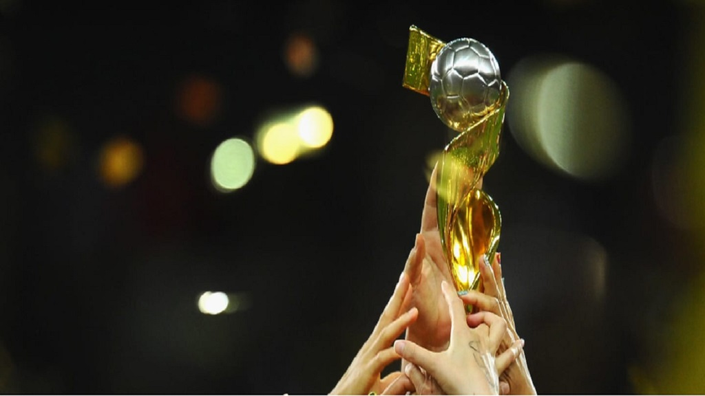 Women's World Cup trophy.