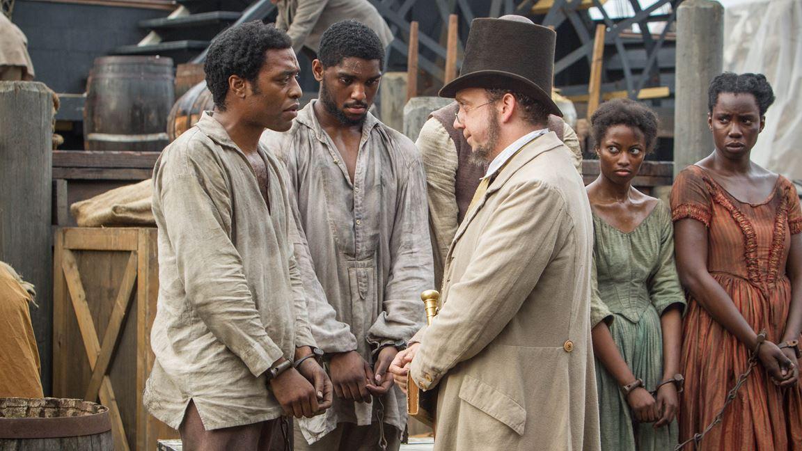 Scène Culte du film Esclave pendant douze ans / une L'histoire vraie de l'esclave Solomon Northup, primée aux Oscars / CP : TéléQuebec