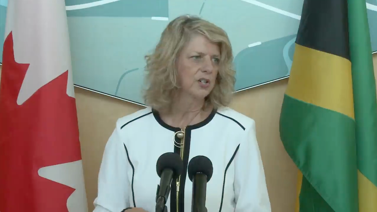 Canadian High Commissioner to Jamaica Laurie Peters