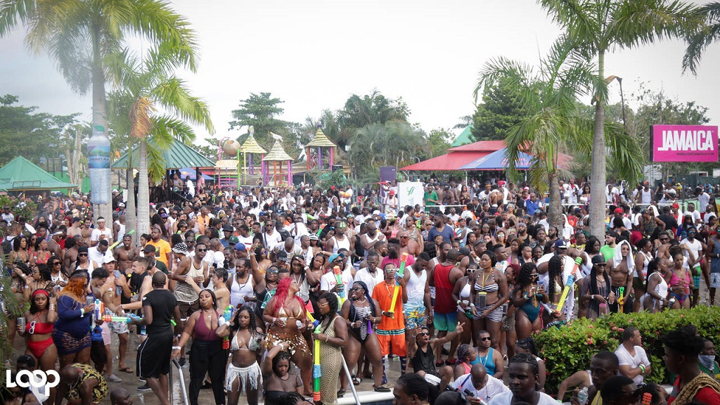 Revellers at the Wet N Wild party during Dream Weekend last year. (File photo)
