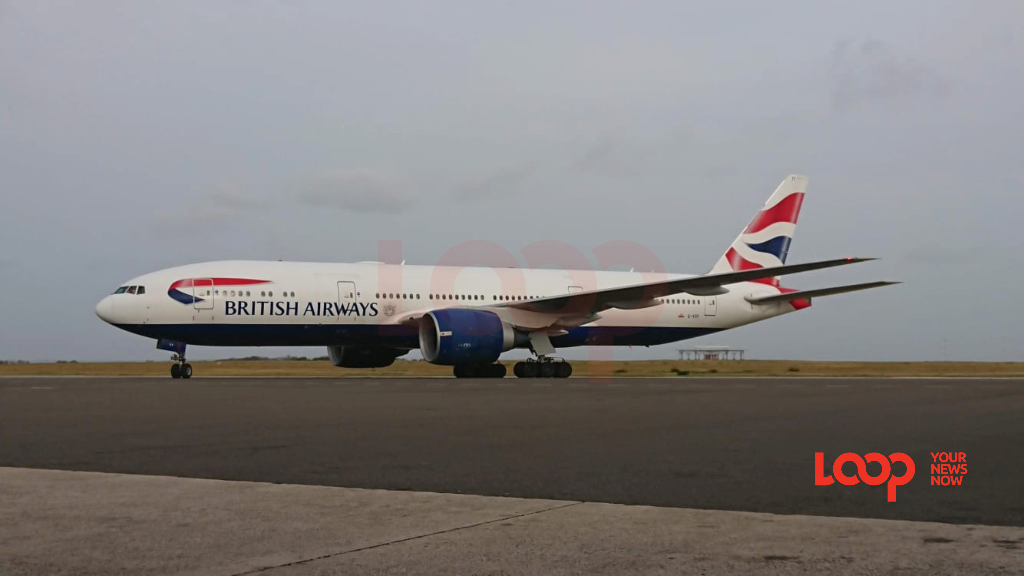 British Airways at Grantley Adams International Airport (FILE).