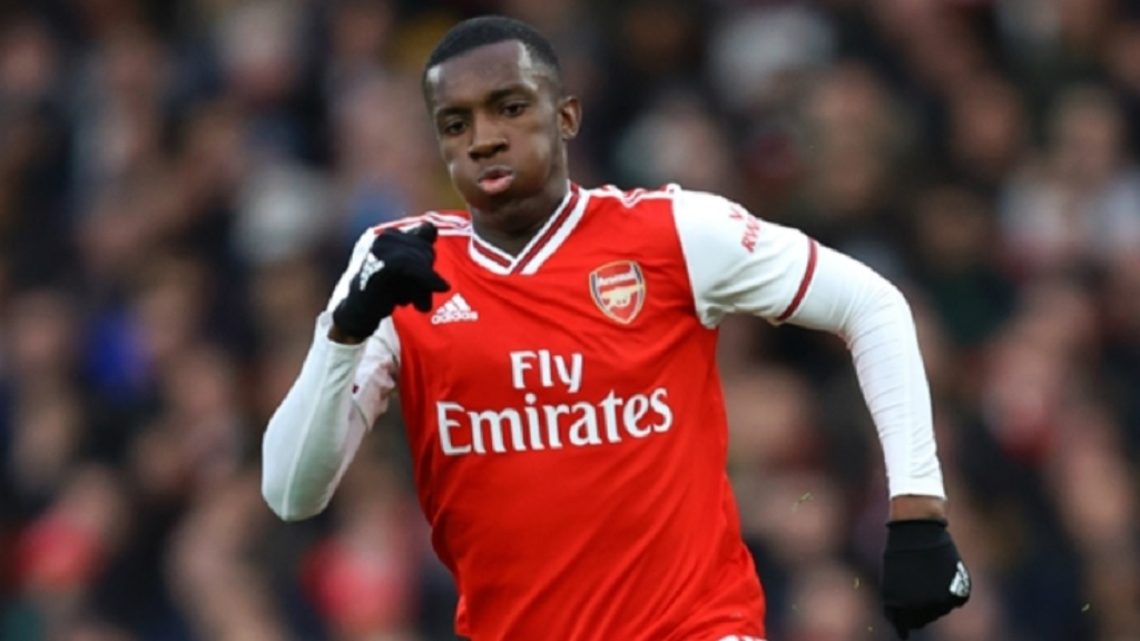 Eddie Nketiah impressed for Arsenal.