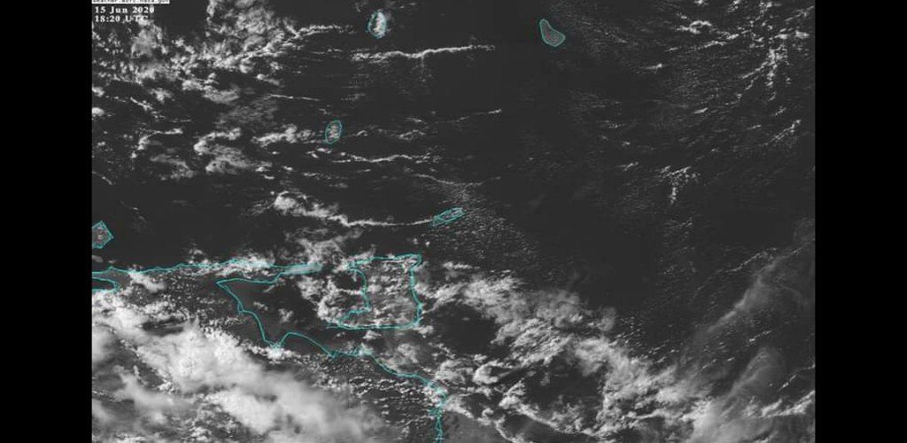 Photo via the Trinidad and Tobago Meteorological Service (TTMS)
