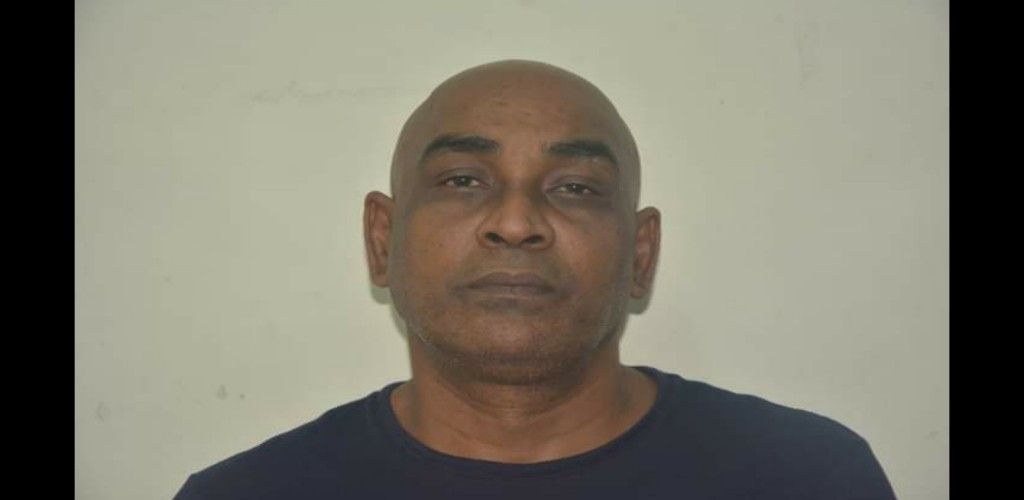 Pictured: Jeffery Despot (Photo provided by the Trinidad and Tobago Police Service)