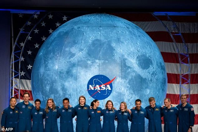 NASA's astronaut class of 2020 might be among those returning to the Moon under the Artemis program/ AFP
