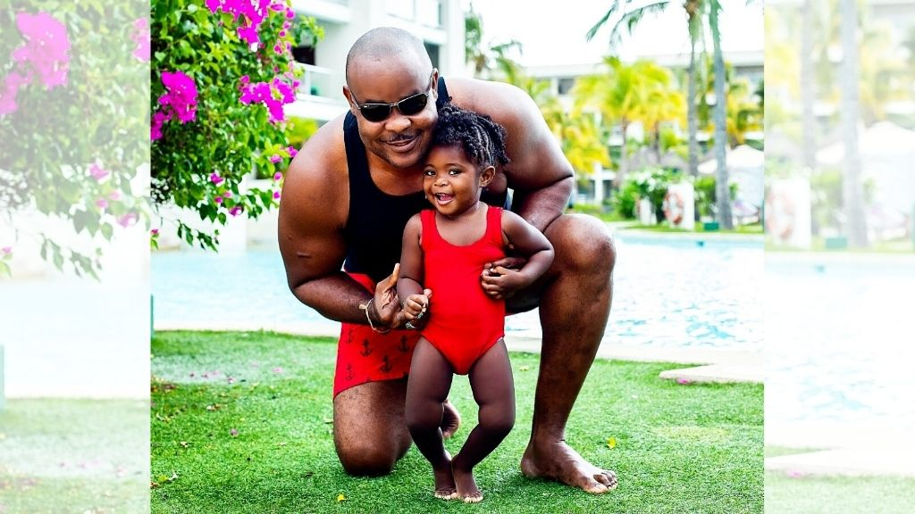 Deputy Superintendent of Police Garfield 'Bucka' Taylor and his daughter Jordan. (Photos: Contributed)