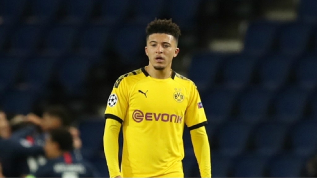 Borussia Dortmund attacker Jadon Sancho.