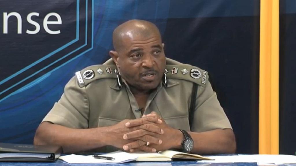 Acting Commissioner of Police Milton Desir
