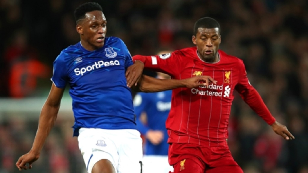 Everton v Liverpool will take place at Goodison Park.