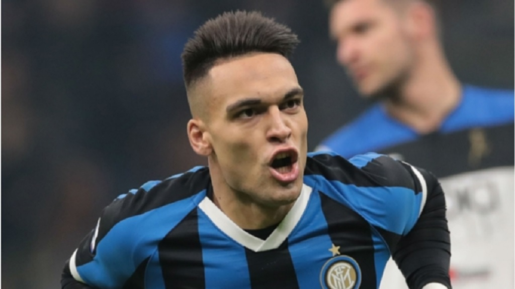 Inter striker Lautaro Martinez.
